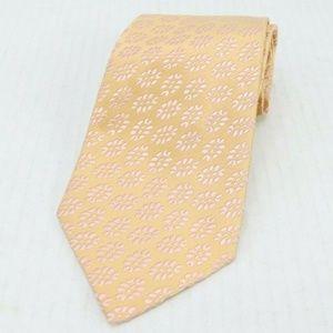 New Charvet Place Vendome Silk Floral Neck Tie